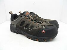 Merrell Men's Work Ridgepass Bolt Composite Toe CP Safety Hiking Shoes Brown 10M