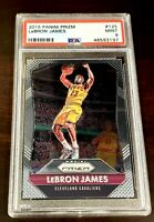 Lebron James 2015-16 Panini Prizm PSA 9 MINT FINALS MVP!  CHAMPS! 125 LAKERS 🔥
