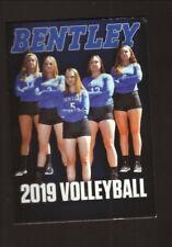 Bentley Falcons--2019 Volleyball Pocket Schedule