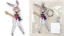 """FLCL Furi Kuri Acrylic Keychain Haruko Haruhara Bunny 4.1"""" Gainax Licensed New"""