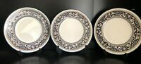 3 Wedgwood Florentine W1956 bread & butter plates First quality 7 ins or 17.5 cm