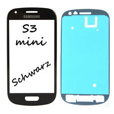 Samsung Galaxy S3 mini i8190 LCD Display Glas Touch Screen Front Schwarz