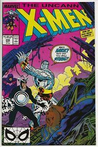 Marvel Comics THE UNCANNY X-MEN #248 first printing