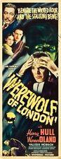 Werewolf Of London Movie Poster Insert #01 Replica