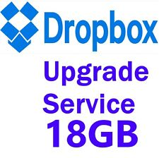 Dropbox Permanent 18 GB Lifetime Space Upgrade⭐ Account Pre Upgraded By Referral