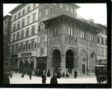Italie, Florence, loggia del Bigallo Vintage silver print,  Tirage argentique