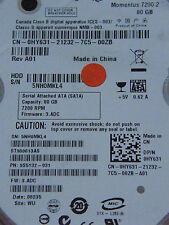 80 GB Seagate st980813as/9s5132-031/3.adc/Wu/100430580 REV C DISCOTECA RIGIDO