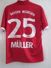 Bayern Munich 2016-2017 Hogar Camiseta De Fútbol Tamaño Grande Muller/41878