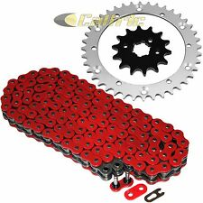 Red O-Ring Drive Chain & Sprockets Kit Fits YAMAHA BANSHEE 350 YFZ350 1989-06