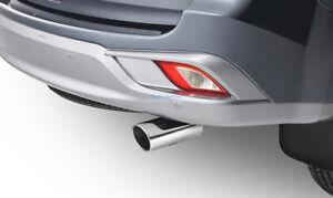 Isuzu MU-X 2013-2020 Genuine Chrome Exhaust Muffler Tip 5867609420