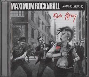 Public Safety (Maximumrocknroll CD 2006) International Hardcore Punk Compilation