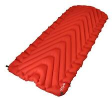 "Klymit Insulated Static V Luxe Red Sleeping Pad Camping Mat 06LIRd01D ""Brand New"