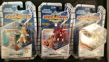 Medabots - Megabee, Arcbeetle, Femjet Action Figure w/ Game Card & Die, Lot of 3