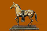 Hand Made Museum Quality Racing Horse by French artist Moigniez Bronze Statue