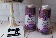 ROCKET POP Maxilock Swirls Decorative Overlocker Thread, variegated swirl