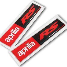 APRILIA RACING estilo RS MOTO PEGATINA dibujo ADHESIVOS x Rectangular 2 piezas