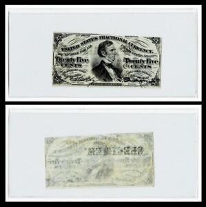 "1863 US Civil War CSA WMK Fractional Currency 25c "" SPECIMEN"""
