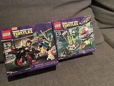 Lego TMNT Lot 79100 79118 Brand New Factory Sealed Retired Ninja Turt