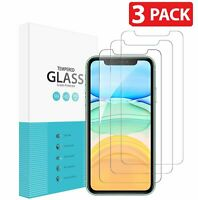 3-Pack Tempered Glass Screen Protector For iPhone 11 / 11 Pro / 11 Pro Max