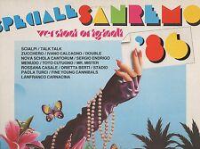 SANREMO 1986 disco LP 33 giri ZUCCHERO SCIALPI PAOLA TURCI STADIO SERGIO ENDRIGO
