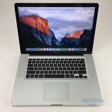 "Apple 2010 MacBook Pro 15"" 2.53GHz I5 1TB 8GB MC372LL/A + C Grade + Warranty!"