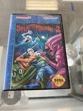 Sega Genesis SPLATTERHOUSE 2 *Boxed* Splatter House II Rare