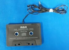 RCA CAR CONNECTING PACK COMPACT DISC CASSETTE ADAPTOR USED