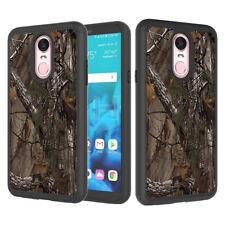 For LG Stylo 4 / LG Q Stylus Case Patterned Hybrid Armor Shockproof Phone Cover