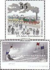 FRG (FR.Germany) 2833,2834 fine used / cancelled 2010 Railway, Ski
