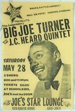 Blues legend BIG JOE TURNER original concert poster