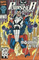 Punisher Comic Issue 2 2099 Modern Age First Print 1993 Pat Mills Skinner Morgan
