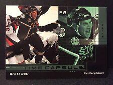 Brett Hull 1999-00 Upper Deck PowerDeck Time Capsule Auxiliary