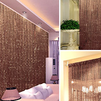 14Colors String Door Curtain Beads Room Divider Window Panel Tassel Fringe Beads