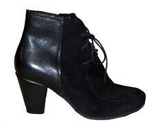 HÖGL Ankle Boots Stiefel 38,5  100% Leder 199,- Euro Stiefelette Schwarz Bequem