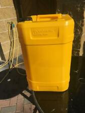 25 LITRE YELLOW CONTAINER FOR WATER, OIL, DIESEL ETC