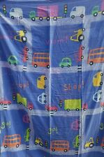 childs toddler bedding single quilt with matching pillowcase set. Cars trucks