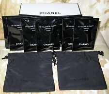 New Chanel Le Volume Mascara 10 Noir/Black 10x 1ml / 0.03oz each +Gift Box +Card