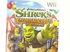 Shrek's Carnival Craze Party Games (Nintendo Wii, 2008) V5