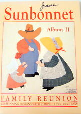 Sunbonnet Album II Family Reunion Quilting Book Patterns Instructions 1990