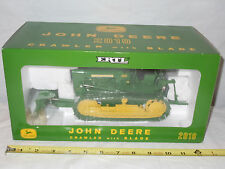 John Deere 2010 Crawler With Blade  2003 Plow City Farm Toy Show   By Ertl