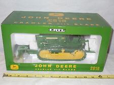 John Deere 2010 Crawler With Blade  2003 Plow City Farm Toy Show   By Ertl