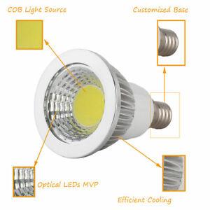 E27 3W COB Led Light Bulb Cool White Spotlight Lamp Indoor AC110V-240V 6500K