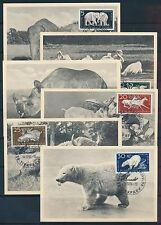 Briefmarken der DDR (1949-1990) als Satz mit Sonderstempel