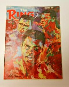 THE RING MARCH 1966 MUHAMMAD ALI COVER BOXING MAGAZINE RARE COOL COLLECTIBLE