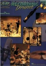 Musicians Guide to Recording Drums (Book & CD), New, Beck, Dallan Book