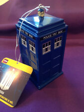 DOCTOR WHO Plastic TARDIS Ornament - FREE SHIPPING!  ITEM DW1131 - Free Ship