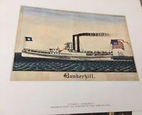 ANTIQUE 16 Folk Art Prints American Primitive Watercolors Mary Black Book