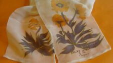 Asprey ,long,silk chiffon, scarf,New.Fabulous !