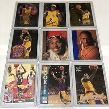 LOT(9) KOBE BRYANT 1996-1997 SP CARDS ALL MINT TOPS(1) FLEER(6) UPEER DECK(2)