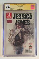 JESSICA JONES #1 • CGC SS • SIGNED KRYSTEN RITTER • ALIAS NETFLIX